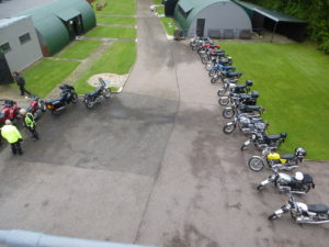 Saturday ride out to !00th Bomb Group Memorial Museum